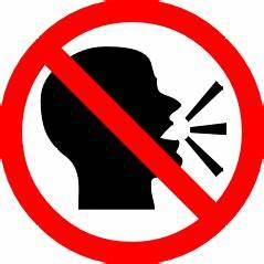 No Talking Sign - ClipArt Best