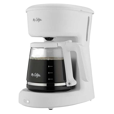 With the brewing pause 'n serve feature you can pour a cup if coffee is still brewing. Sunbeam® 2134155 Mr. Coffee® 12 Cup ADC Switch White 2 Per ...