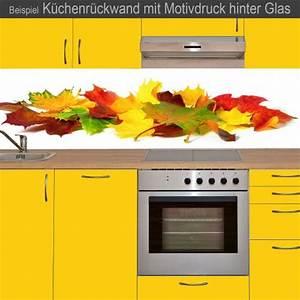 Küchenrückwand Kunststoff Motiv : k chenr ckwand aus glas mit motivdruck herbstbl tter online kaufen ~ Buech-reservation.com Haus und Dekorationen