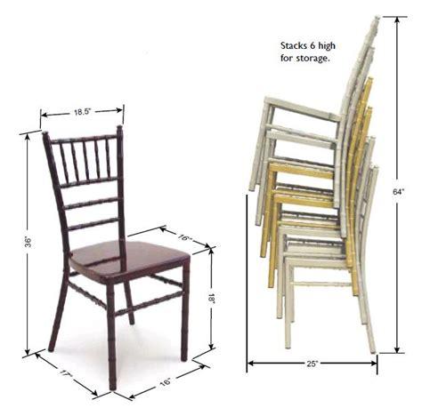 mccourt 7720x chiavari aluminum stack chair