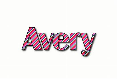 Avery Text Logos