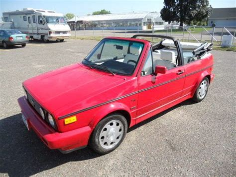how to sell used cars 1993 volkswagen cabriolet auto manual find used 1993 volkswagen cabriolet base convertible 2 door 1 8l no reserve sale in saint paul