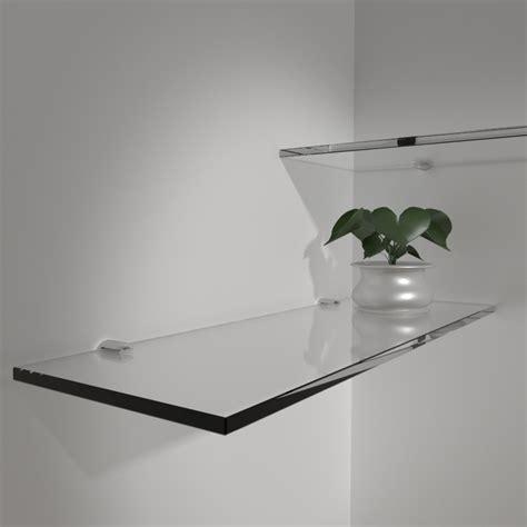 mensole vetro bagno mensole in vetro mensole in vetro su misura