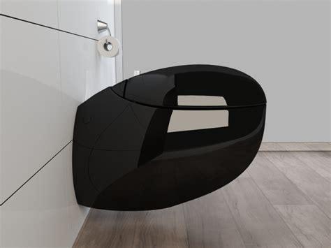 wand wc schwarz design wand h 196 nge wc toilette inkl soft wc sitz kb01s schwarz ebay
