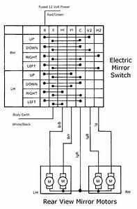 Toyota Power Mirror Wiring Diagram