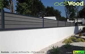 Cloture Pvc Sur Muret : cloture sur muret pas cher ~ Melissatoandfro.com Idées de Décoration