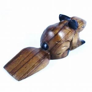 Cale Porte Animaux : cale porte lapin sculpt en bois de suar ~ Teatrodelosmanantiales.com Idées de Décoration