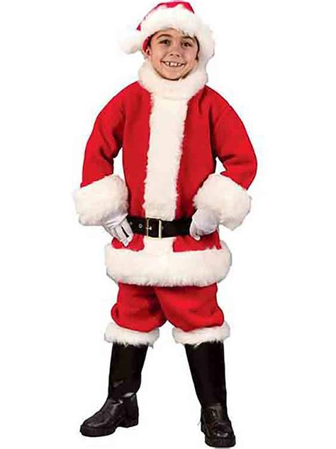 child flannel santa suit costume buycostumes com