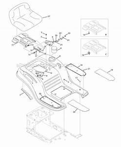 Troy-bilt 13wn77ks011 Parts List And Diagram