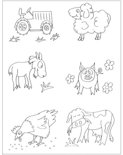 disegni da colorare di animali della fattoria animali della fattoria da colorare home design partner