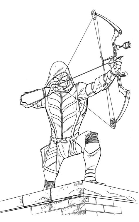 green arrow coloring pages Best Flash Coloring Pages   ideas and images on Bing | Find what  green arrow coloring pages