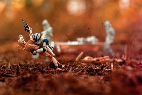 photographing star wars figures  action fstoppers