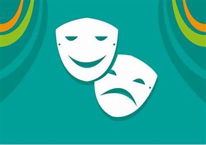 Clipart Het Symbol Sadness Theatre Acting Maschera