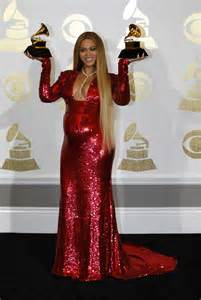 Beyonce at the Grammy Awards 2017