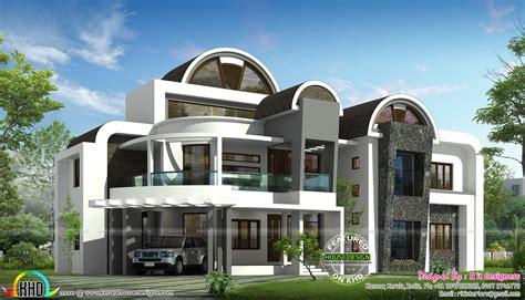 half roof unique house design
