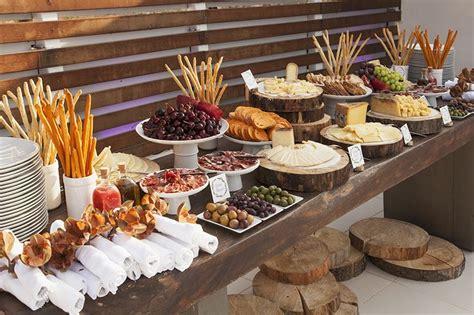 Rustic Buffet Table Food Ideas