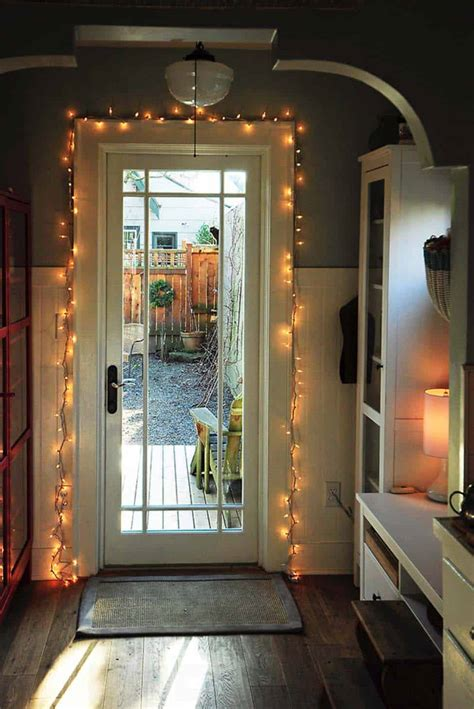 inspiring ways  decorate  home  string lights