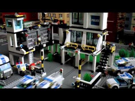 Lego City 7744 Police Station Youtube