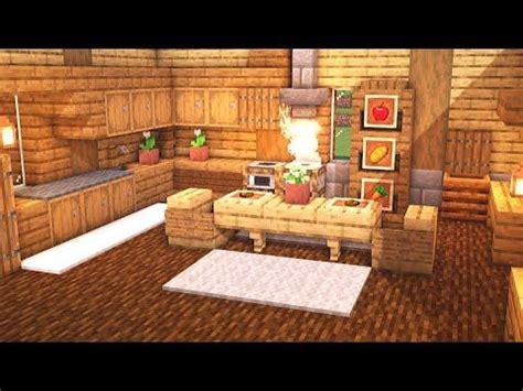 minecraft   build  large kitchen design tutorial youtube   minecraft kitchen
