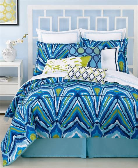 Peacock Colored Bedding by Blue Peacock King Comforter Set