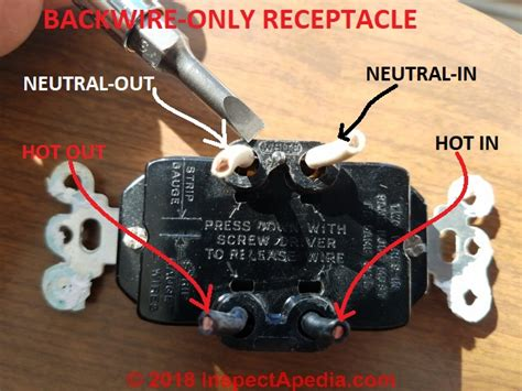 wired electrical receptacle switch connectors safe
