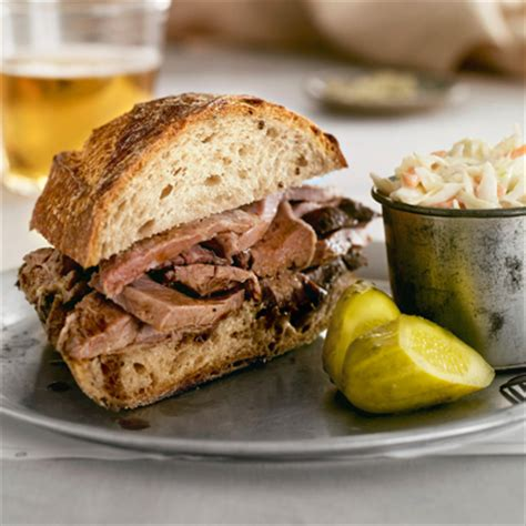 pub cuisine spiced beef sandwich recipe