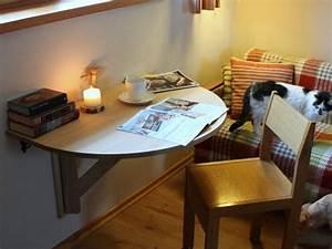 Schreibtisch Wohnzimmer Lösung : wir bieten ihnen unsere wand montiert tropfenblatt tisch solch ein holz halbrund umklappen ~ Markanthonyermac.com Haus und Dekorationen