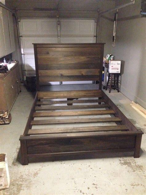 diy bed frame 25 best ideas about diy bed frame on pallet