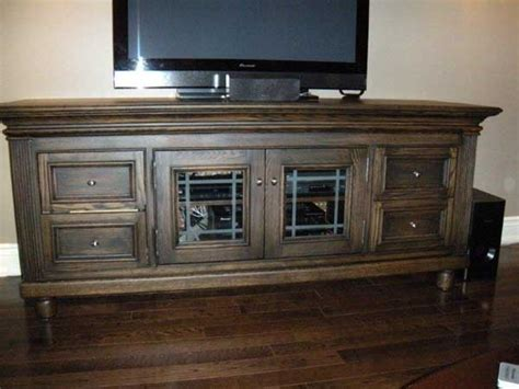 white oak tv stand woodworking blog  plans