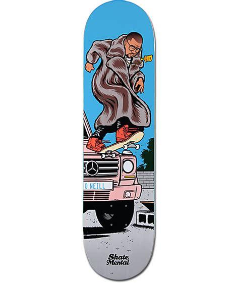 skate mental decks 80 skate mental oneill kanye 8 0 quot skateboard deck at zumiez pdp