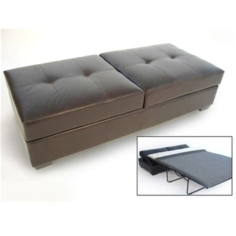 small space ottoman fold out bed ottoman that folds out into a bed for the home pinterest