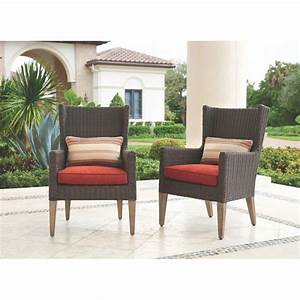 25, Inspirations, Of, Outdoor, Wingback, Chair
