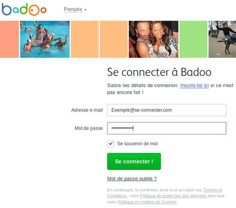 Badoo Connexion Via se connecter 224 badoo sur www badoo com