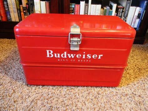 budweiser red light for sale vintage galvanized metal budweiser cooler circa 1940s