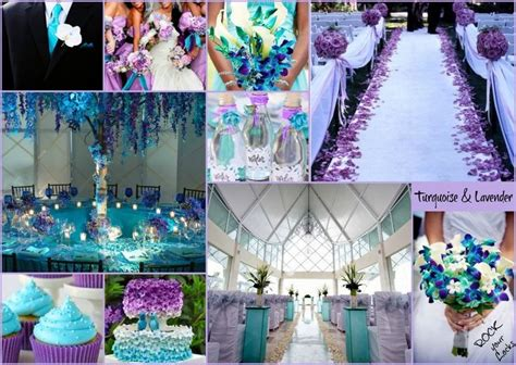 Turquoise And Silver Wedding Color Schemes