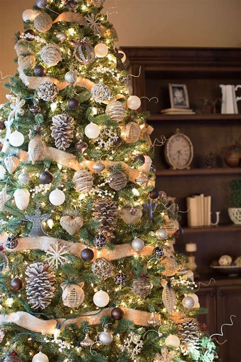 christmas tree decorations ideas  pinterest