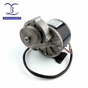 Xinhuangduo 250w 12v 24 V36v Dc Gear Brushed Motor With Belt Pulley My1016z2