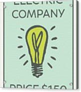 These are the game publishers responsible for what we believe are the 50 most culturally and historically significant board games and card games published since 1800. Electric Company Vintage Monopoly Board Game Theme Card Poster by Design Turnpike