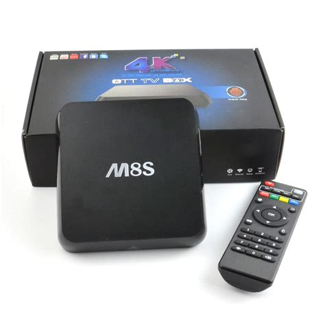android tv box android tv box mbox m8s amlogic s812