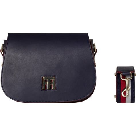 Tommy Hilfiger Handtaschen »TH TWIST SADDLE BAG LEATHER