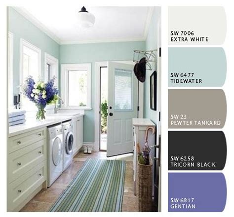 Spin Cycle  20 Best Laundry Room Paint Colors  Laundry