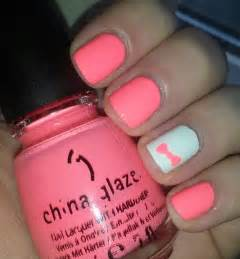 Neon Nail Art for Short Nails