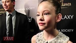 Mackenzie Foy on Her 'Twilight' Co-Stars - YouTube