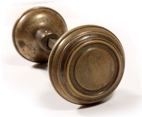 antique brass door knobs vintage white porcelain door knobs