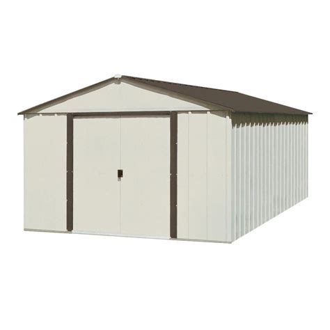 Arrow Galvanized Steel Storage Shed 10x12 by Shop Arrow Galvanized Steel Storage Shed Common 10 Ft X