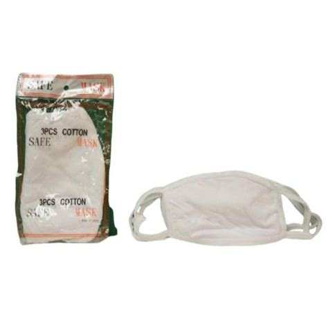 face masks cotton allergy pack safety earloop