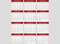 Printable Calendar 2015 2015 Printable Calendar