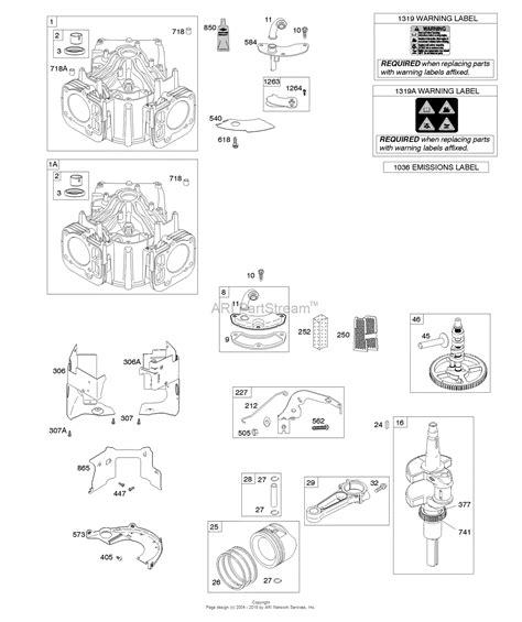 briggs  stratton    parts diagram