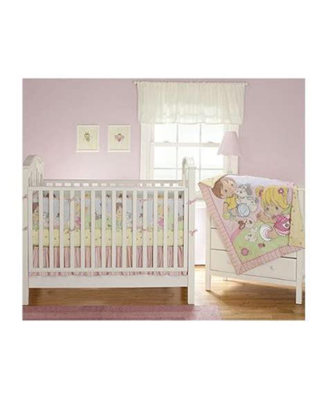Precious Moments Crib Bedding by Precious Moments Playful Friends 4 Crib Bedding Set