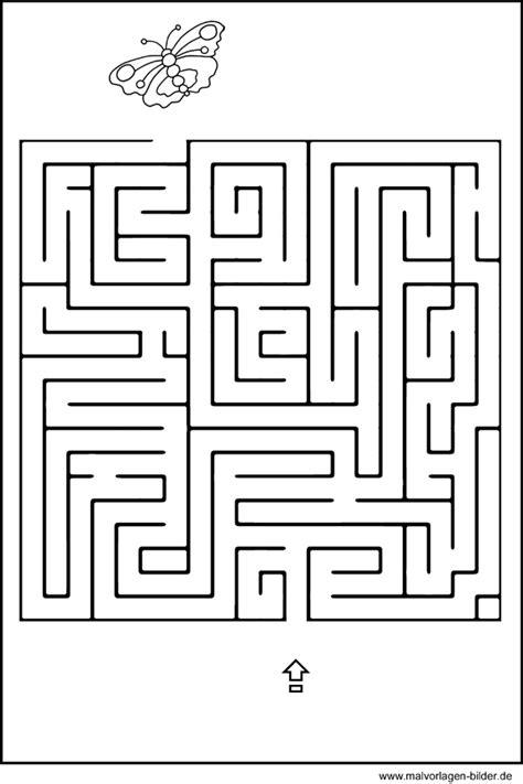 labyrinth geschicklichkeitsuebung fuer kinder kinderraetsel